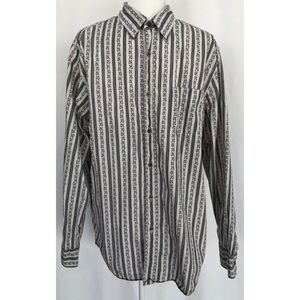 LUCKY BRAND Mens Dungarees Long Sleeve Button Down